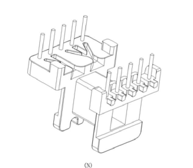 ?EE16变压器骨架EE17电源骨架EE16高频骨架EE17卧式骨架EE16电源骨架 YTG-1626