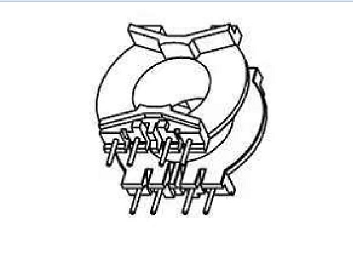 ???ATQ20高頻骨架PQ20 電木骨架PQ21電源骨架ATQ20變壓器骨架ATQ21高頻骨架PQ20骨架YTB-2001