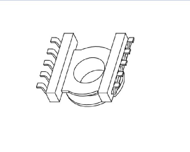 ?ER11.5高頻骨架EC11.5電源骨架ER11.5變壓器骨架ER11貼片骨架ER11.5電木骨架 YTC-1101
