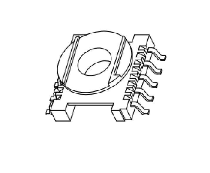 ER14.5高頻骨架EC14.5電源骨架ER14.5變壓器骨架ER14貼片骨架ER14.5電木骨架 YTC-1401