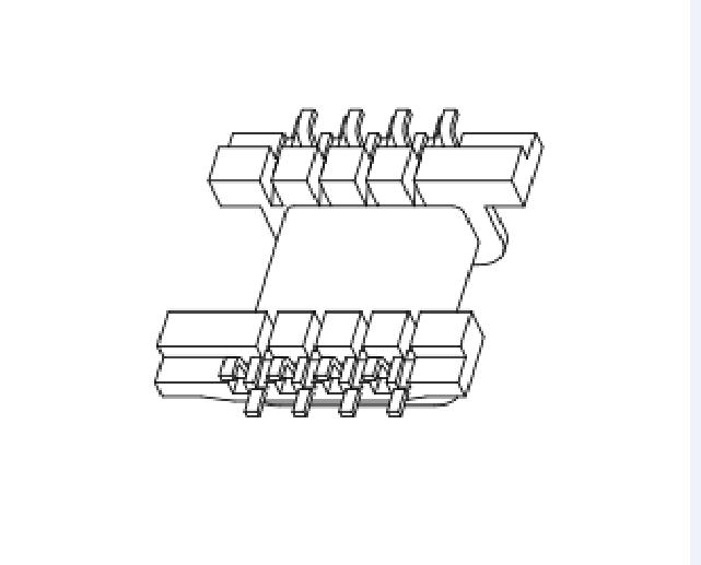 FEY12.8高頻骨架FEY電源骨架FEY13 變壓器骨架FEY12.5骨架 YTC-1205