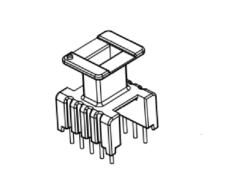 ???????????EE13變壓器骨架EE13電源骨架EE13加高骨架EE13高頻骨架EE13通訊骨架EE13  YTQ-1317