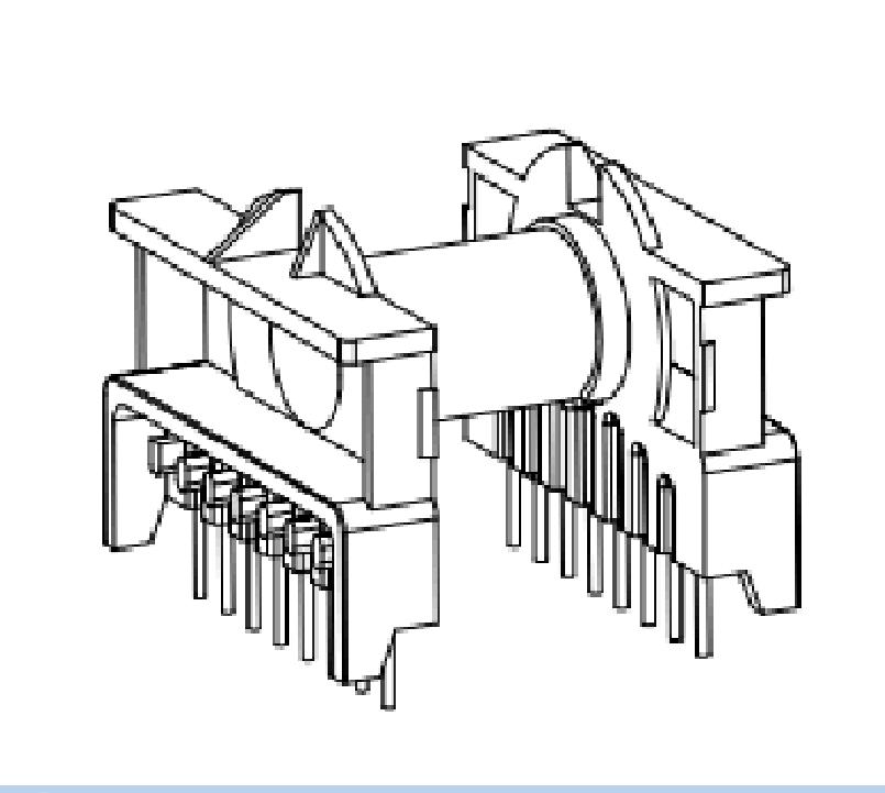 ETD39變壓器骨架ER39電木骨架EC39高頻骨架ERL39電源骨架EC39骨架 YTT-3909