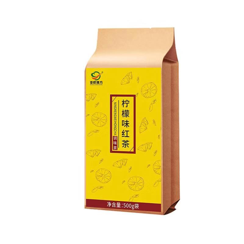 綠茶調味茶廠家_亞歐保健_草莓_混合_餐館用_茉莉_玫瑰_袋裝