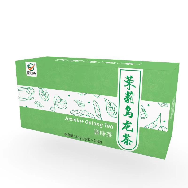 茉莉紅茶調味茶加工廠家_亞歐保健_果香_餐館用_草莓_荷葉苦瓜