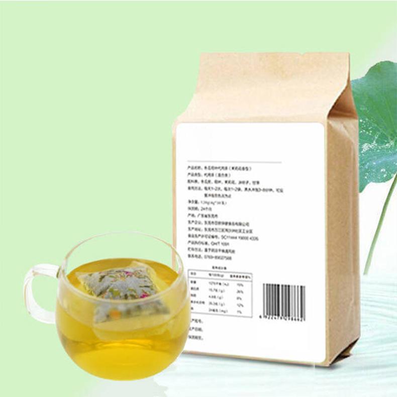 冬瓜荷叶代用茶
