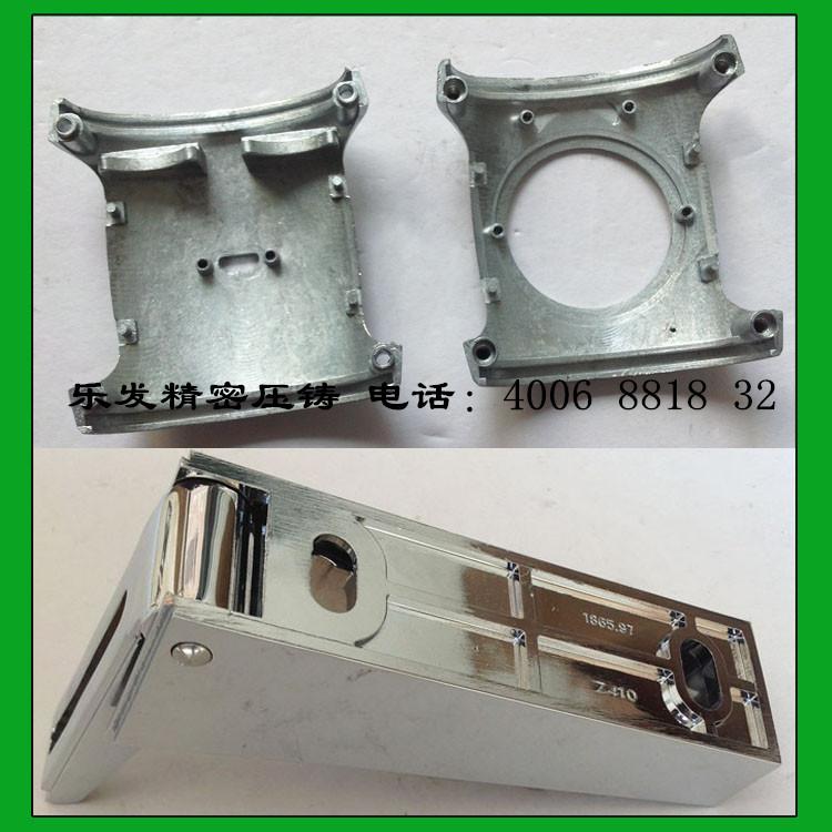 锌合金汽车轴承座支架设计加工
