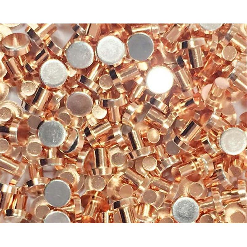 河南銀銅觸點生產公司_銀悍電器_優質_溫控器_異形復合_溫控