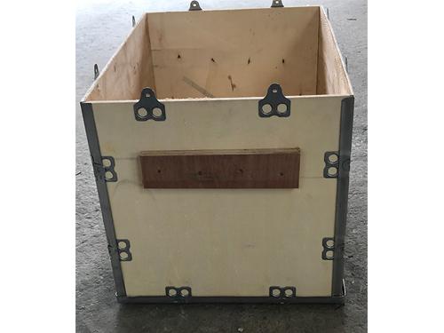 萝岗免熏蒸钢带木箱哪家好 永惠木 免熏蒸 物流 定制 复古 镀锌