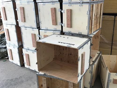 海珠木质钢带木箱厂商 永惠木