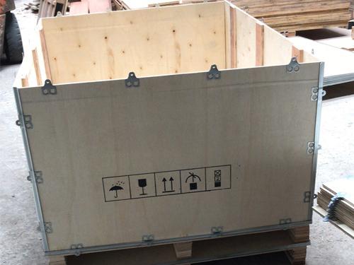 增城定制钢带木箱哪里有 永惠木