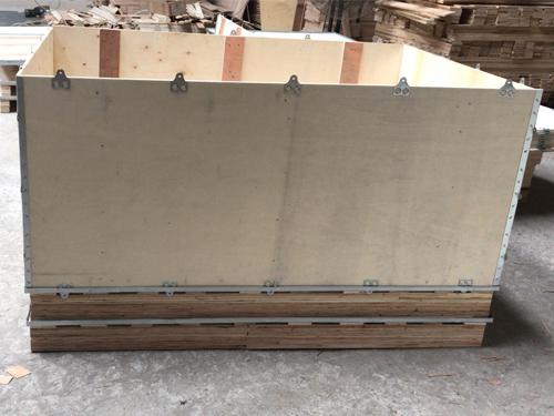南沙卡扣钢带木箱厂商 永惠木