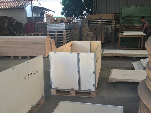 番禺抗压钢带木箱 永惠木 品牌前茅 收费低