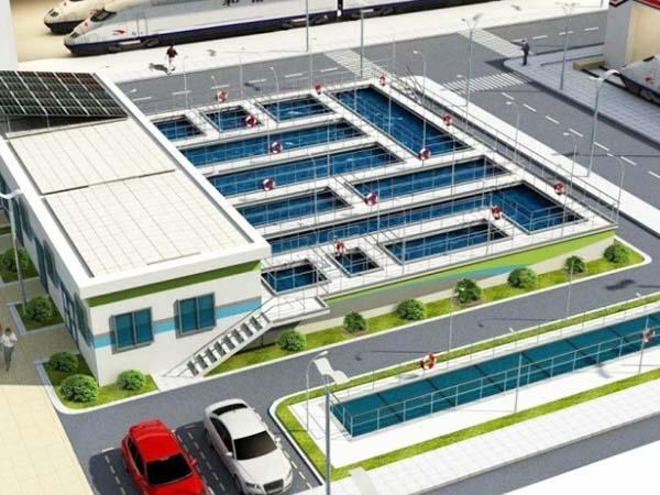A2O水处理工艺流程及工程