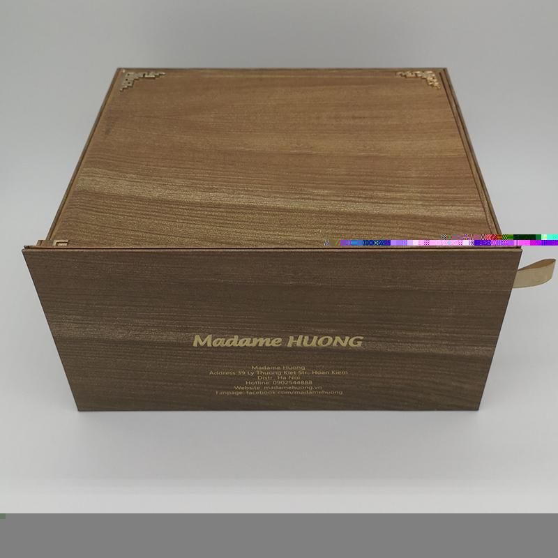 正方形抽屉盒产地货源_一加一包装_高档_樱花彩印_抖音同款