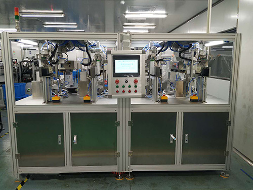 防城港输液器包装机外型_一捷自动化_针头_一次性_全自动智能