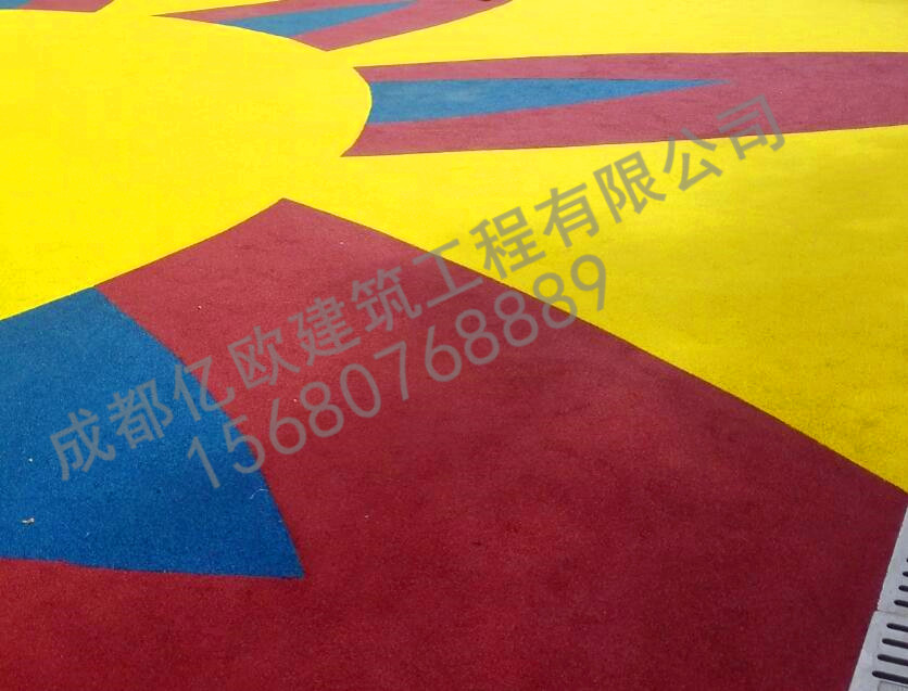 綿陽彩色透水混凝土鋪裝公司,壓印地坪【億歐建筑】