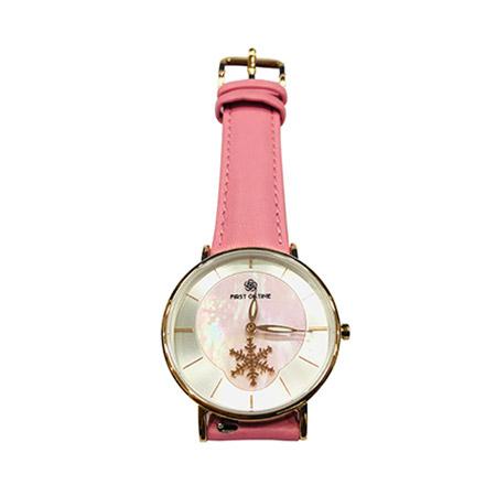 FQ002名媛系列-玉雪冰清--粉红色色+粉红色皮带