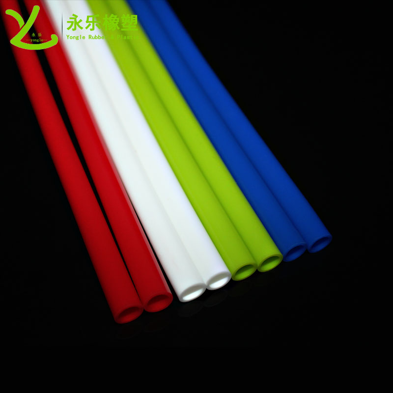 彩色硅胶吸管
