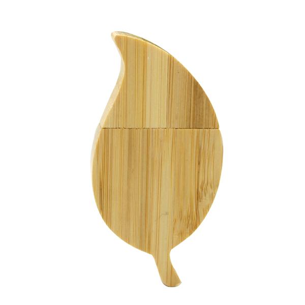 木质树叶U盘