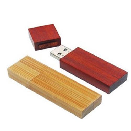 新款木头U盘8G