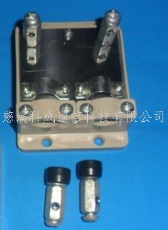 光缆固定座  塑料紧固件 单联 双联光缆固定座