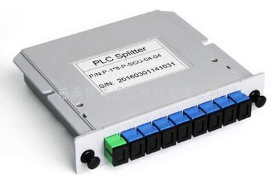 全新1比8分光器 插片式1分8光分路器插卡式 電信級