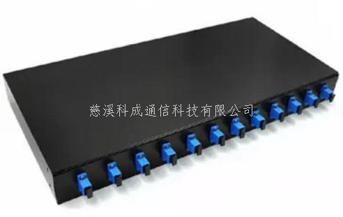 机架式光纤终端盒12口SC单模满配通用型光缆尾纤熔接盒