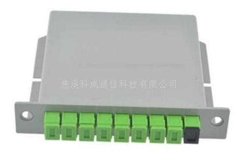 广电入围1分8广电 插片式 光分路器1分8分 SC APC