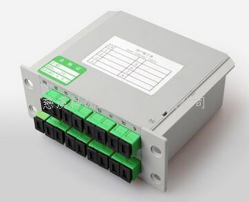 廣電分光器1分16插片式光分路器廠家