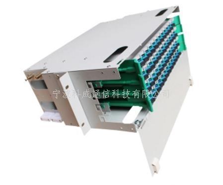 【48芯滿配】電信級一體化熔纖盤SC接口FC 48芯ODF