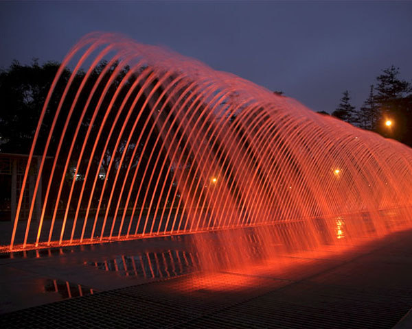 时空隧道喷泉水型