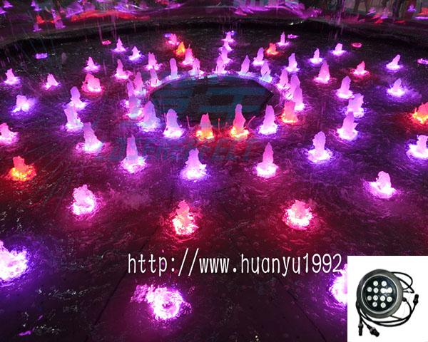 水下LED灯效果