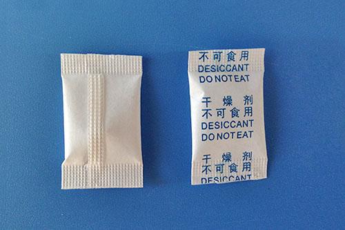 0.5克中英背封干燥剂生产