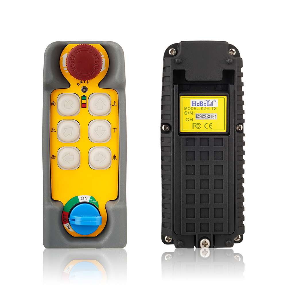 工業遙控器 K2-6 灰色