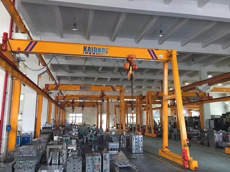 移动式_龙门吊10吨价格_誉鼎起重自动化设备