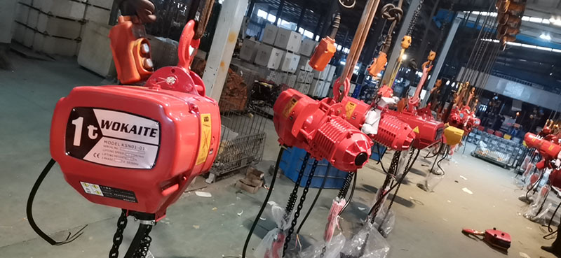 雙速_1噸電動葫蘆訂制_譽鼎起重自動化設備