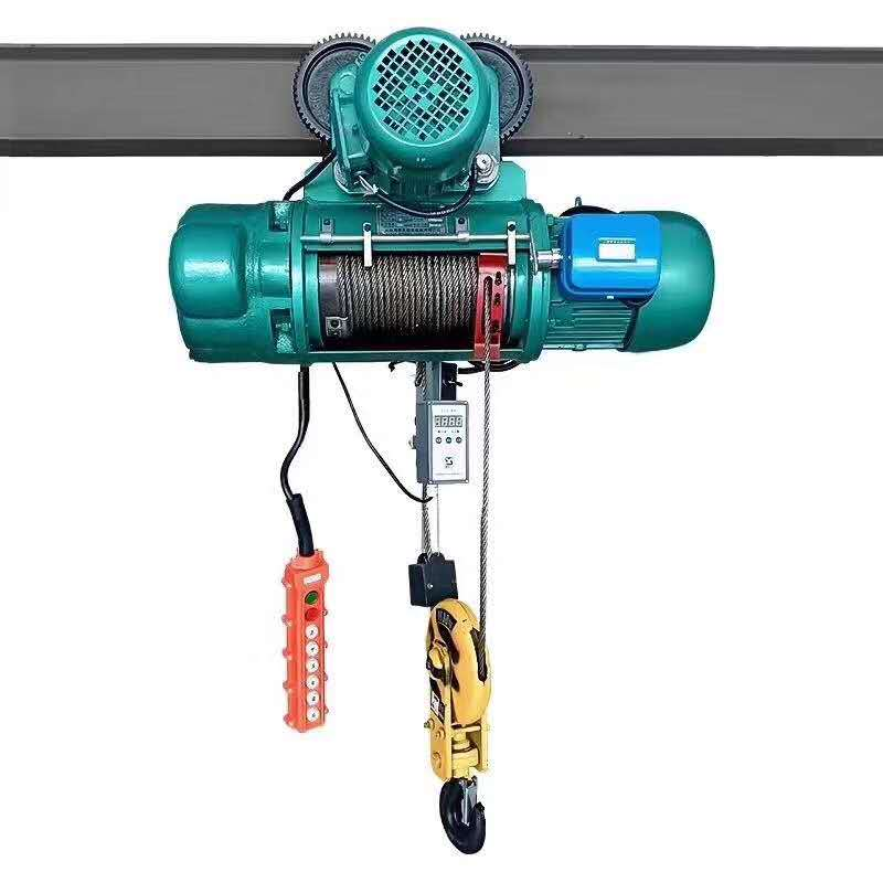 20噸電動葫蘆價錢_譽鼎起重自動化設備_掛鉤式_MD鋼絲繩