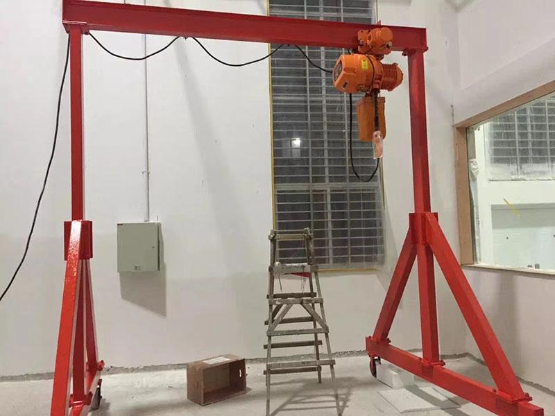 3噸龍門吊供應_譽鼎起重自動化設備_移動式_花架_手推_5噸