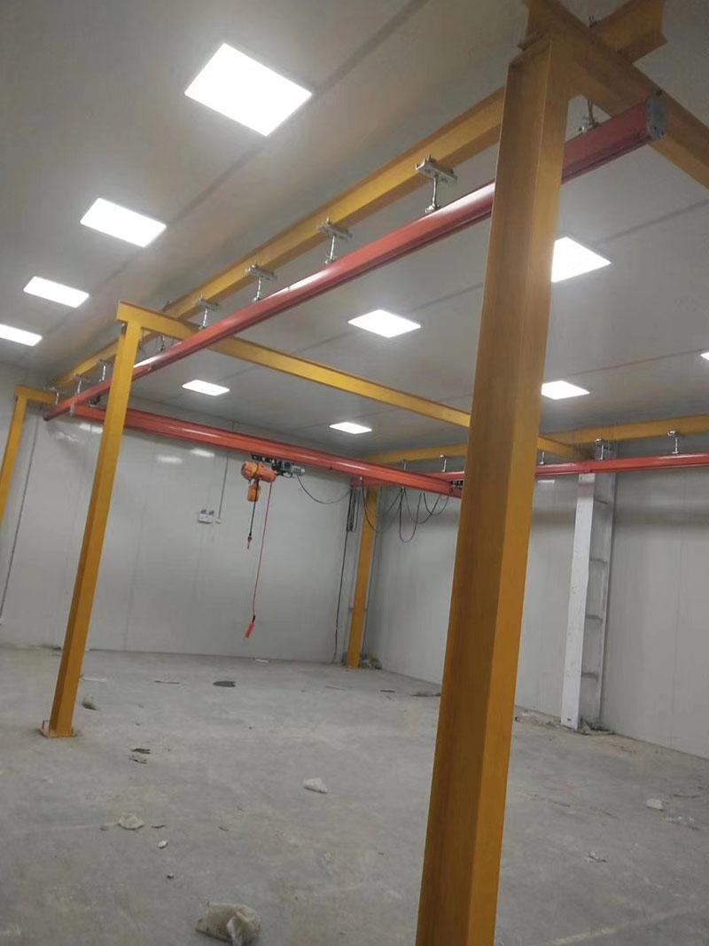 譽鼎起重自動化設備_電動單梁_5噸起重機廠家上門安裝嗎