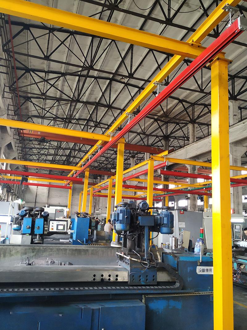 懸掛起重機定制_譽鼎起重自動化設備_龍門式_KBK鋼性_10噸