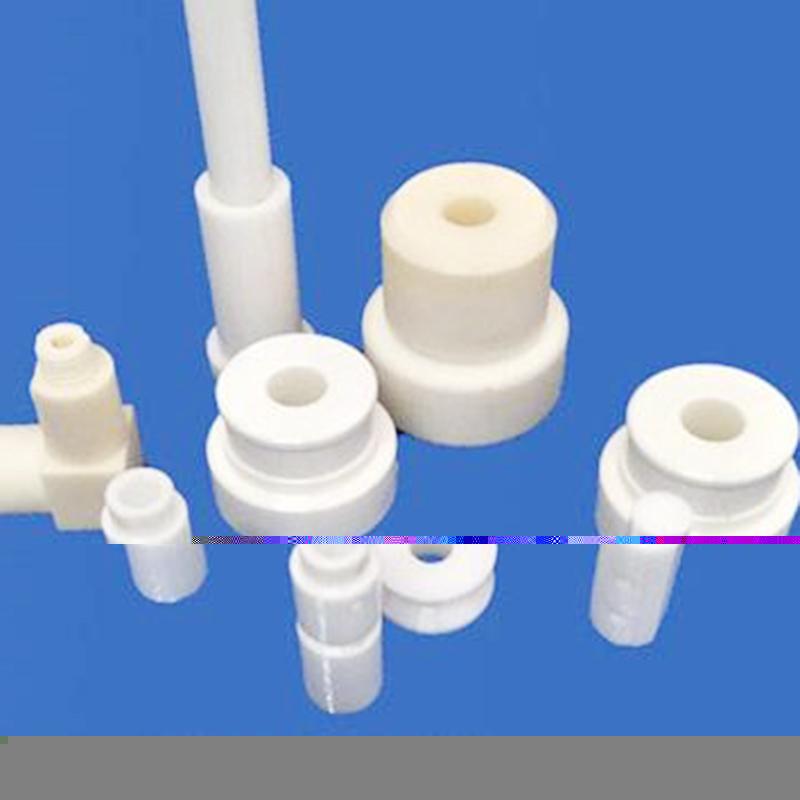 高韧性陶瓷结构件生产_越飞陶瓷_双孔_非标_耐磨_锂电_电子