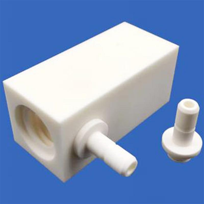 圆晶陶瓷结构件定做_越飞陶瓷_钛化_氮化物_99.5_开槽_光纤
