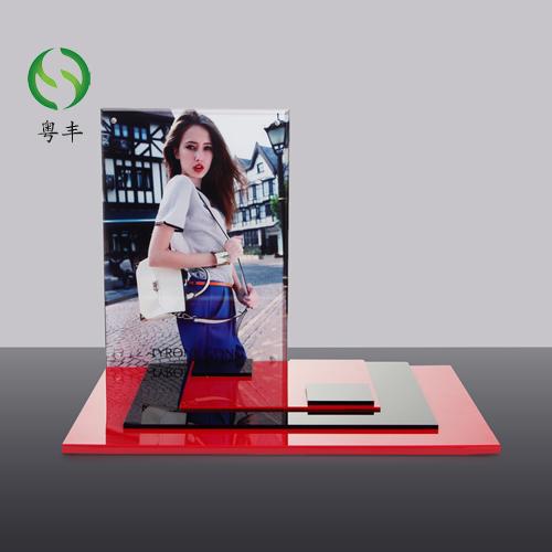 东莞市亚克力制品生产厂家直销定制亚克力化妆品展示架