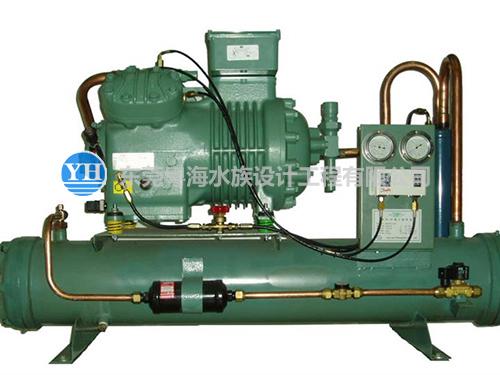 专用海鲜池制冷机|东莞粤海水族设计工程有限公司