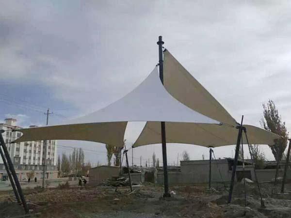 公园膜钢结构工程