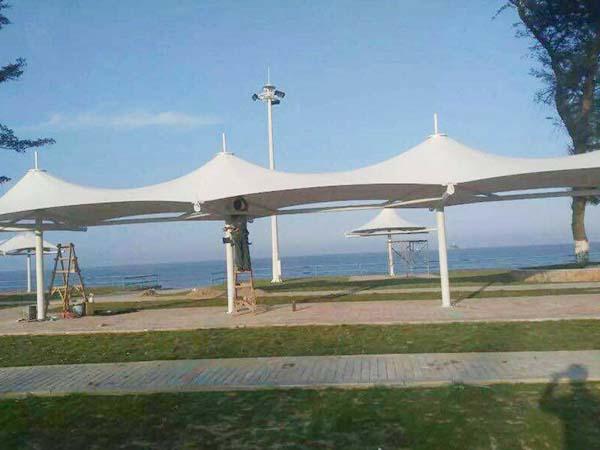 海边膜钢结构工程