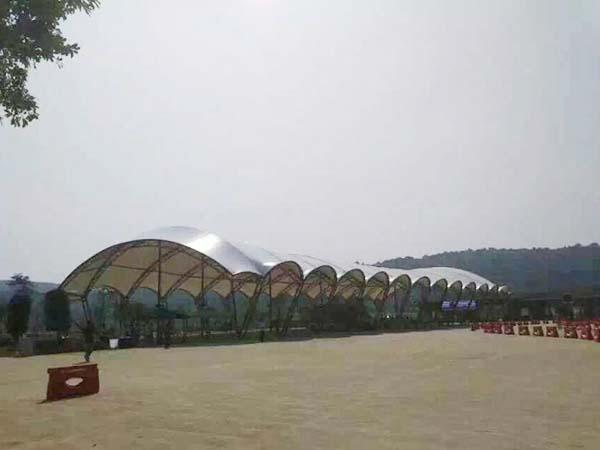 沙滩膜钢结构工程