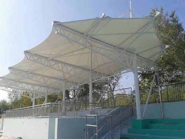 景区膜钢结构工程