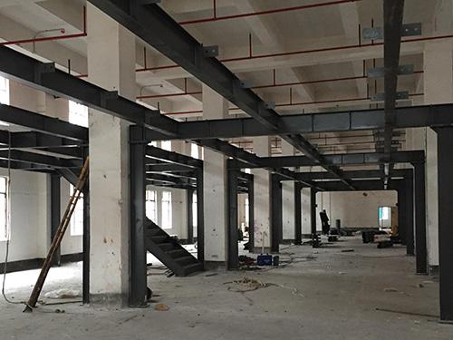 罗定钢结构夹层工程